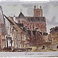 Troyes - la rue du boeuf renouvelé