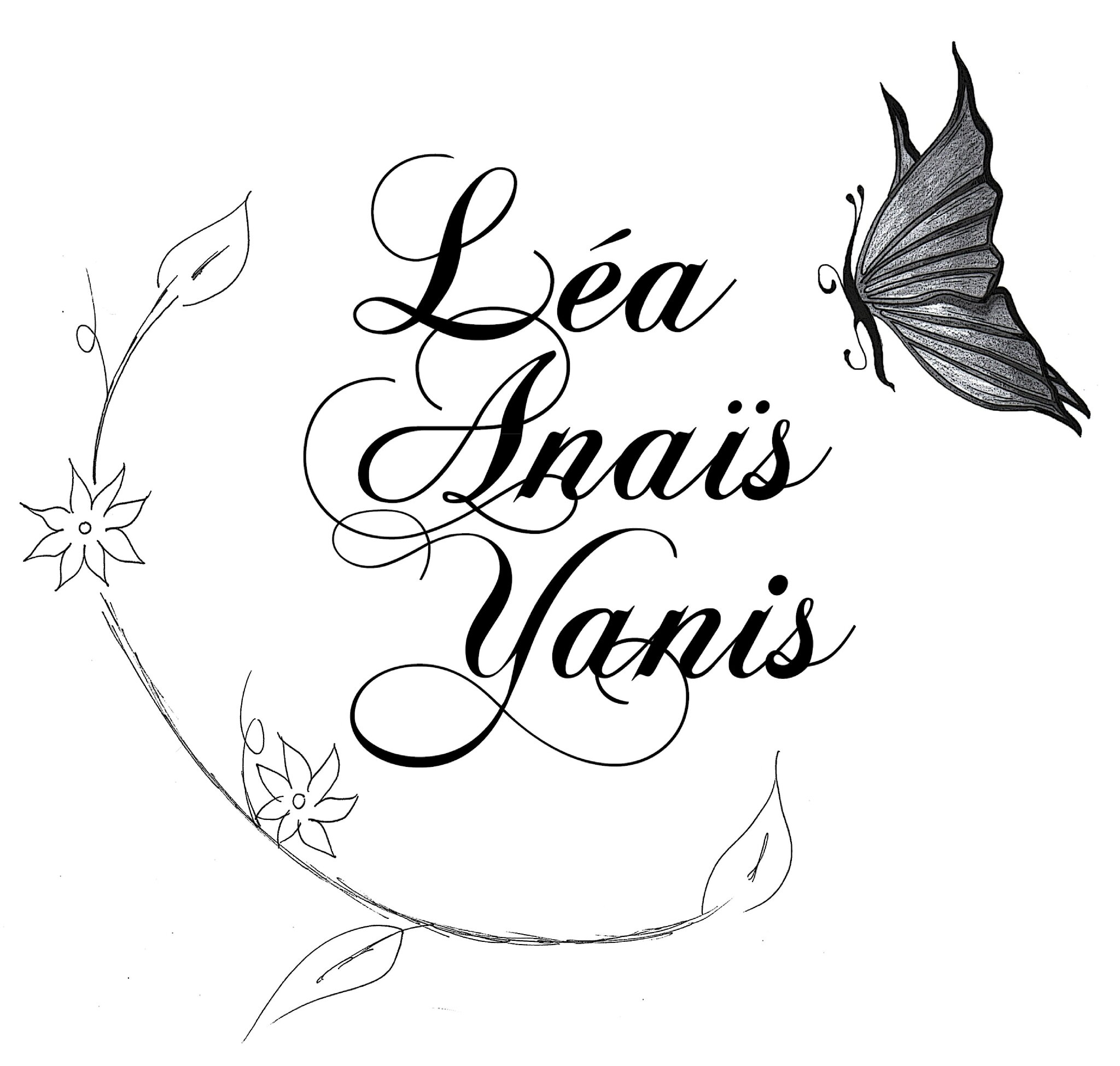 L Association Emily Calligraphy