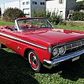 Mercury comet caliente convertible-1964