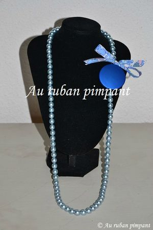 Sautoir Ida bleu