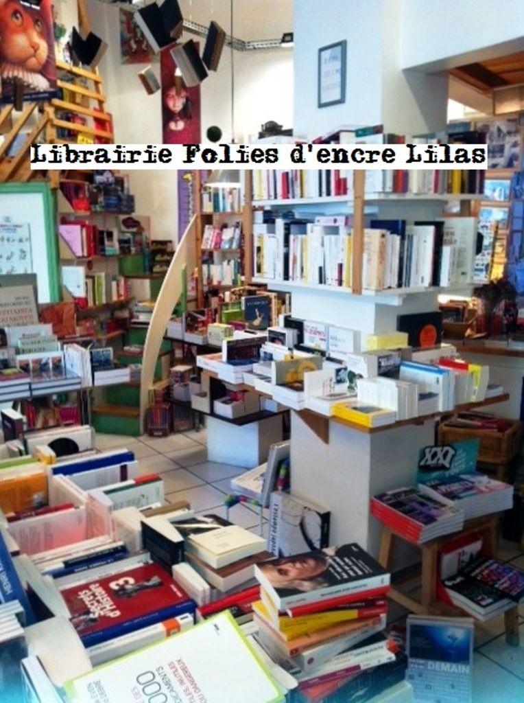 La librairie folies d'encre lilas