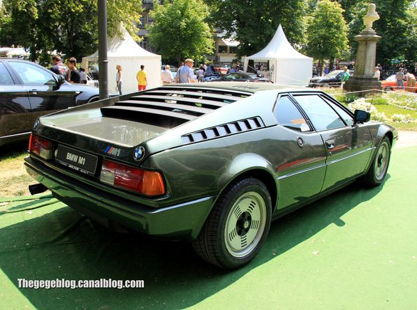 Bmw M1 de 1980 (37ème Internationales Oldtimer Meeting de Baden-Baden) 02