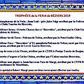 Trophées 2019 - feria de béziers