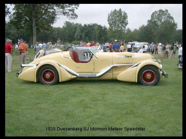 1935 - Duesenberg SJ Mormon Meteor Speedster..