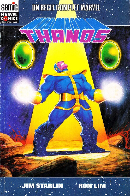 Panini / Semic Marvel Thanos