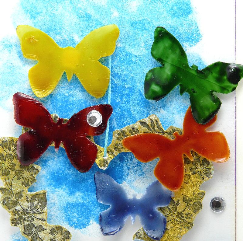 Carte Bingo - détail papillons