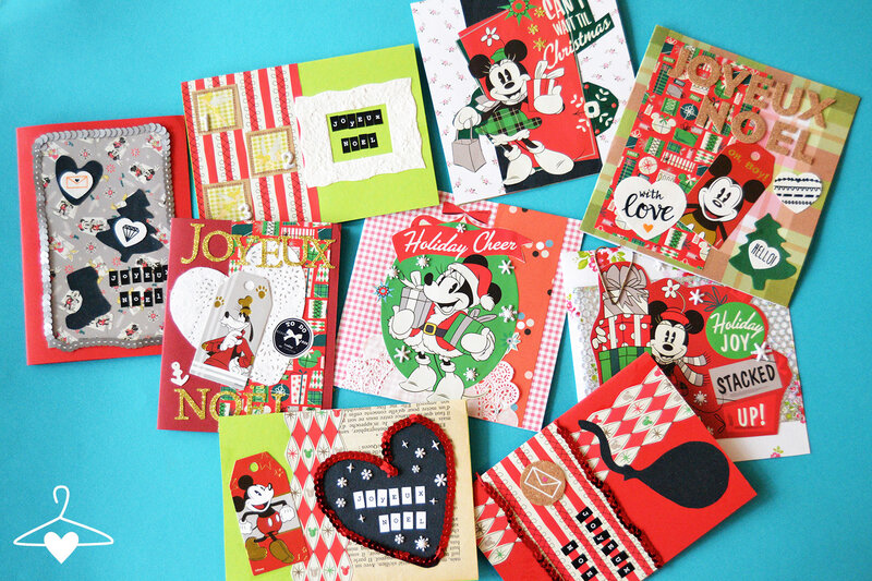 cartes-noel-mickey-minnie-scrapbooking-ensemble-blog-alice-sandra