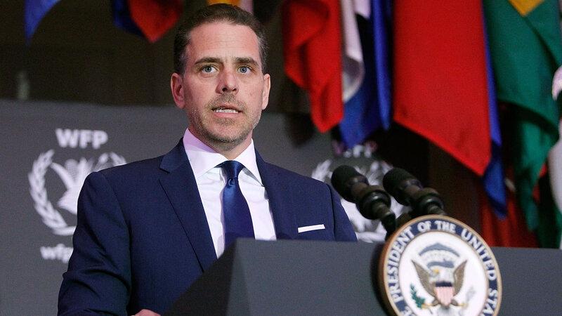 Hunter Biden son of VP Joe Biden