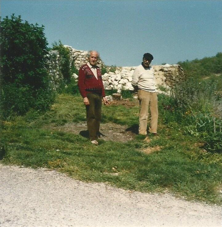 Marcel coen et S à Montjustin