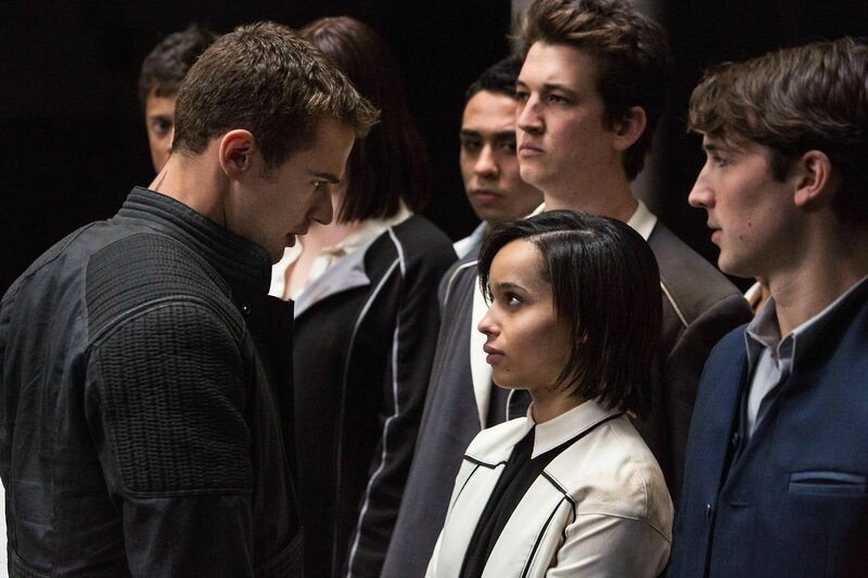 Four Theo James Divergent movie