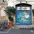 Barcelone - Barri Gotic, art urbain, vélo_5057