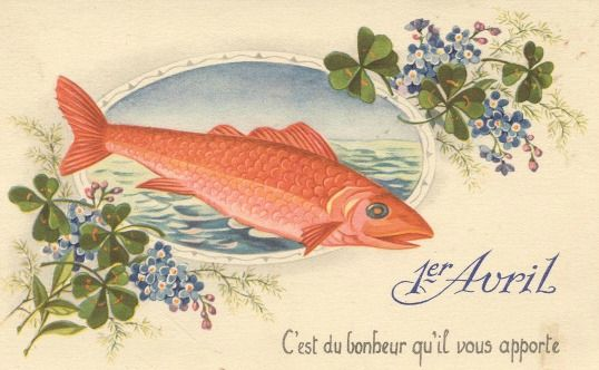 1er Avril poisson rouge j