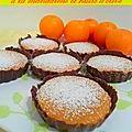 Gâteaux mandarine et huile d'olive