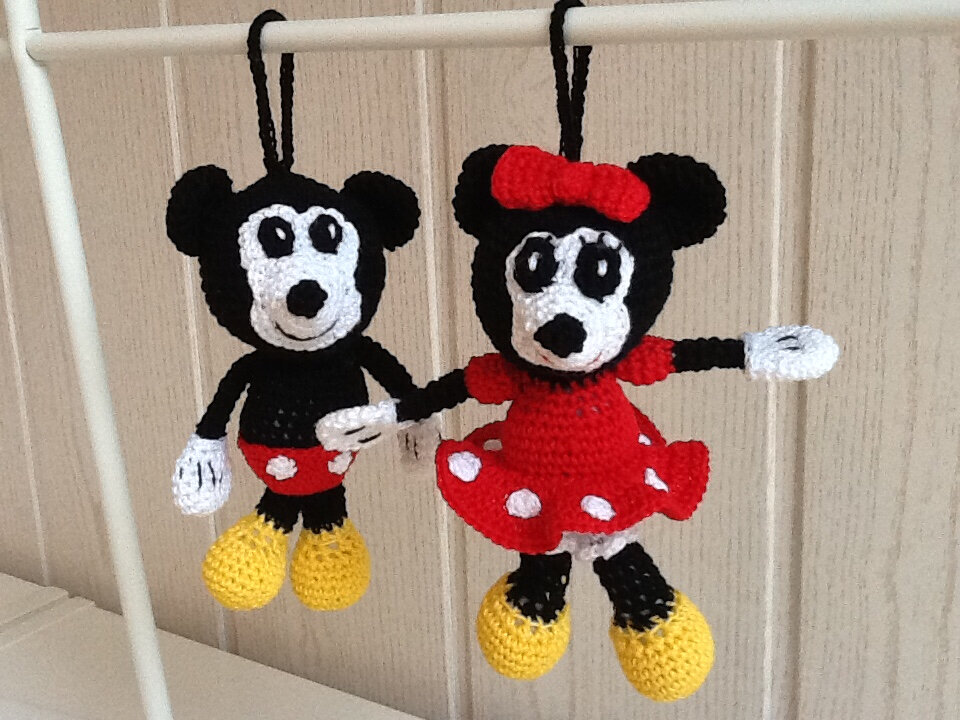 Mini Mickey et minnie