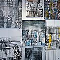 L'exposition 'onhivä par 4 séries' de johanne joe est en place !