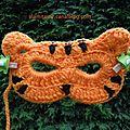 Les masques de mardi-gras au crochet n°1/2017