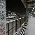 Une dernière couche en gare