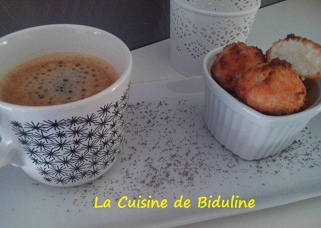 Rochers Coco - La Cuisine de Biduline