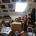 Dans l'atelier des artistes...