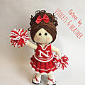 Cheerleader doll