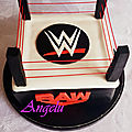 Ring de catch wwe - wwe cake