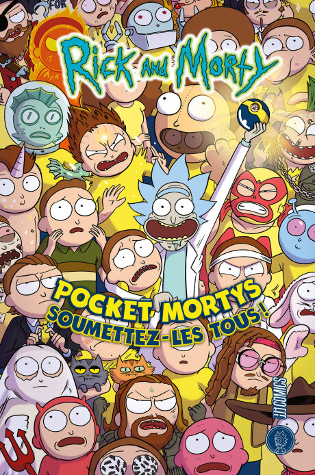 hicomics rick and morty pocket mortys