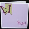 05. blanc, mauve, vert et violet - fanion et papillon