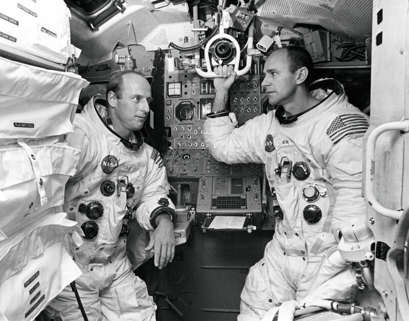 Pete Conrad and Al Bean