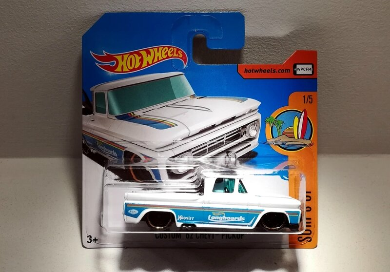 Chevrolet Chevy Pick-Up Custom de 1962 (Hotwheels) 03