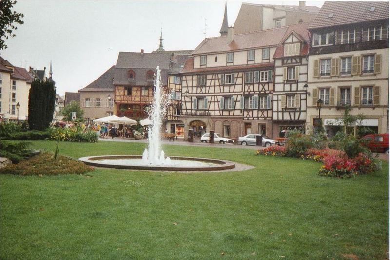 Colmar, le centre ville