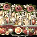 Cadres clusters pâques pour vos créations