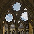 Le cloître de la cathédrale de bayonne