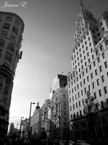 Madrid contraste