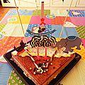 Préparer l'anniversaire pour ses 2 ans : la déco du gâteau (cirque)