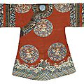 A lady's informal kesi court robe, qing dynasty, late 19th century