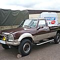 Peugeot 504 pick-up dangel 4x4