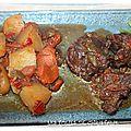 Ragoût de boeuf aux poivrons
