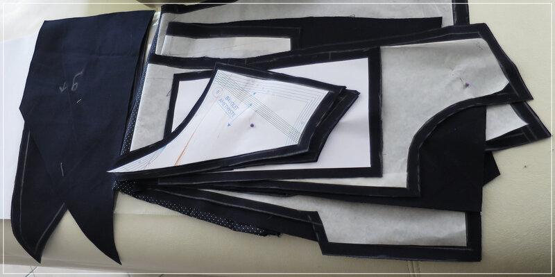 trench grain de couture