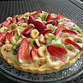 Tarte aux fruits /tarte de fruta