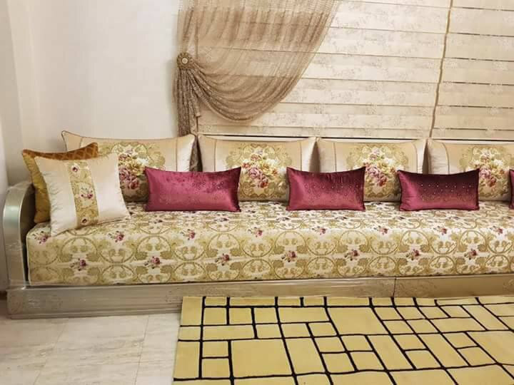 Tissu Benchrif pour salon marocain 2020