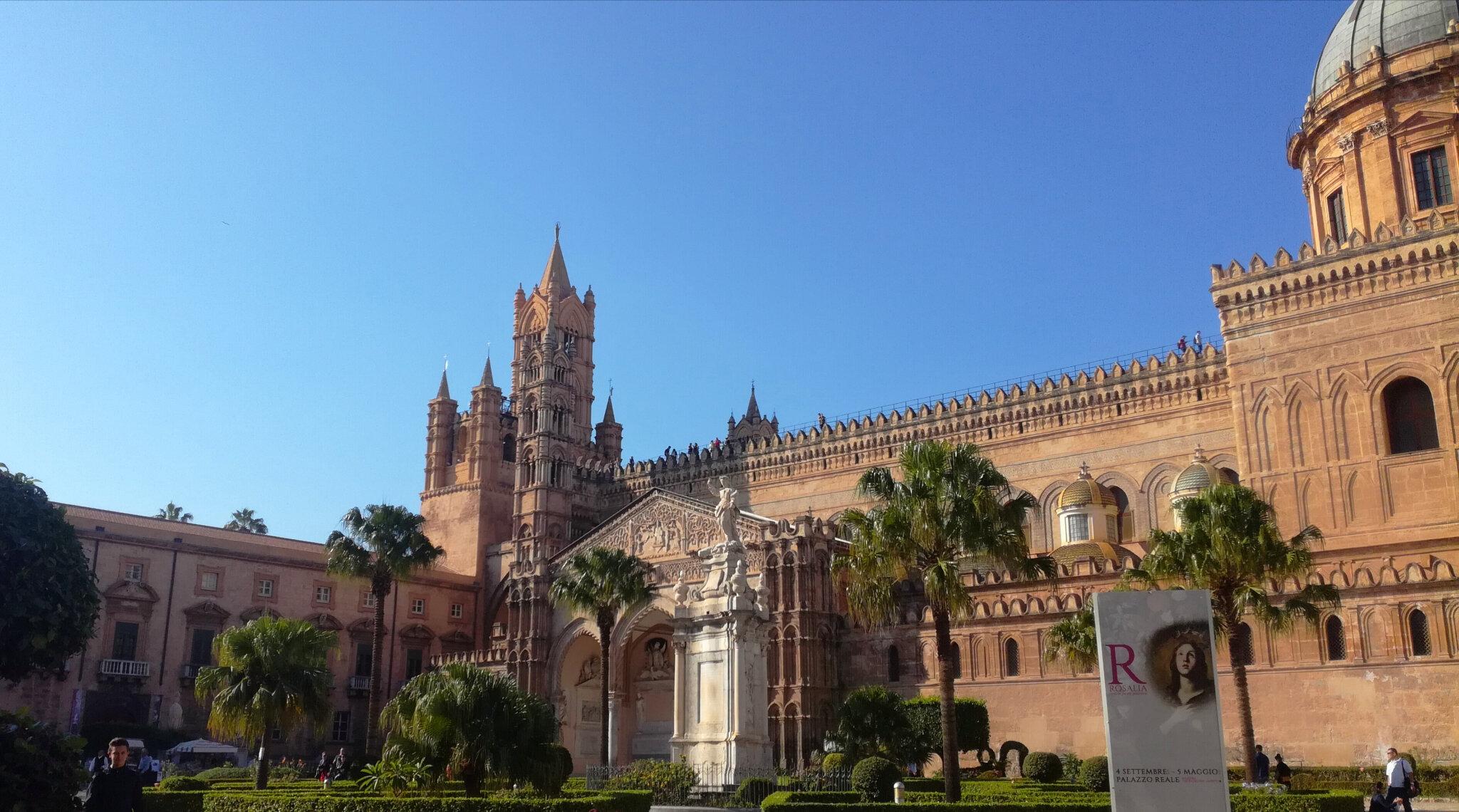 Palerme - Cathédrale et Palais des Normands