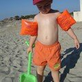 Nathan à la plage