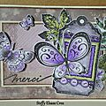 Carte merci papillon