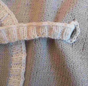 passe-ceinture brodé