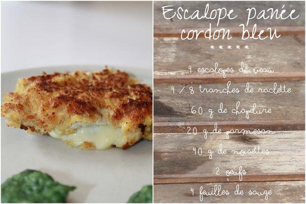 Escalope panée raclette1