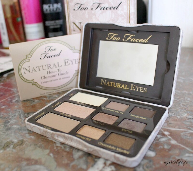 too faced natural eyes 9