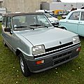 Renault 5 automatic (1981-1984)