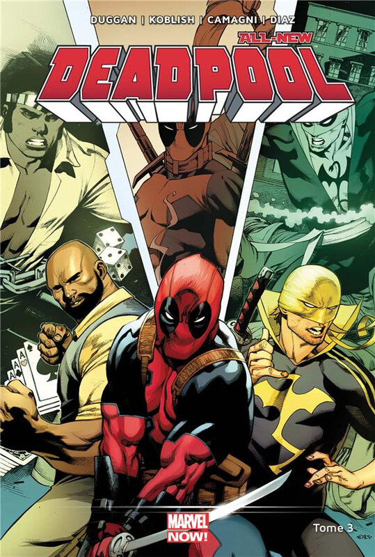 marvel now all new deadpool 03 décharge éclectique