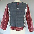 Atelier de couture: confection d'une veste