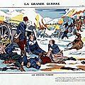 Imagerie d'épinal, la grande guerre, série 2